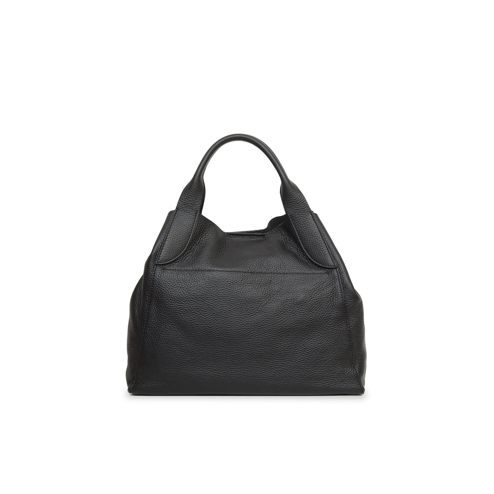 Alice Mini Palermo Leather Handbag - Black