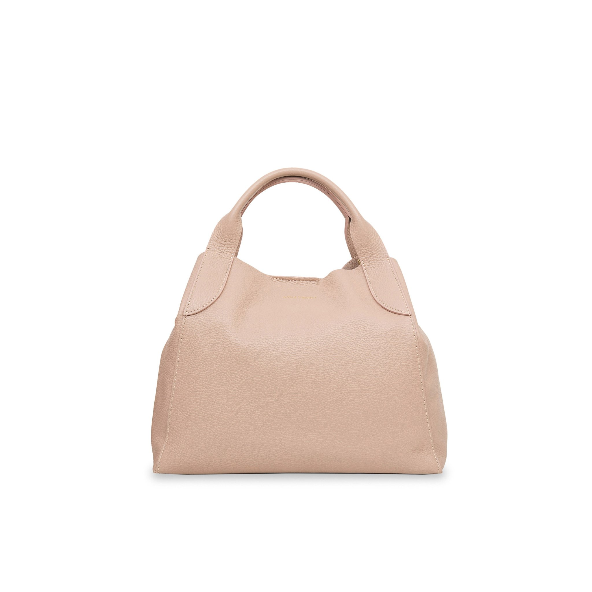 Alice Mini Palermo Leather Handbag - Nude