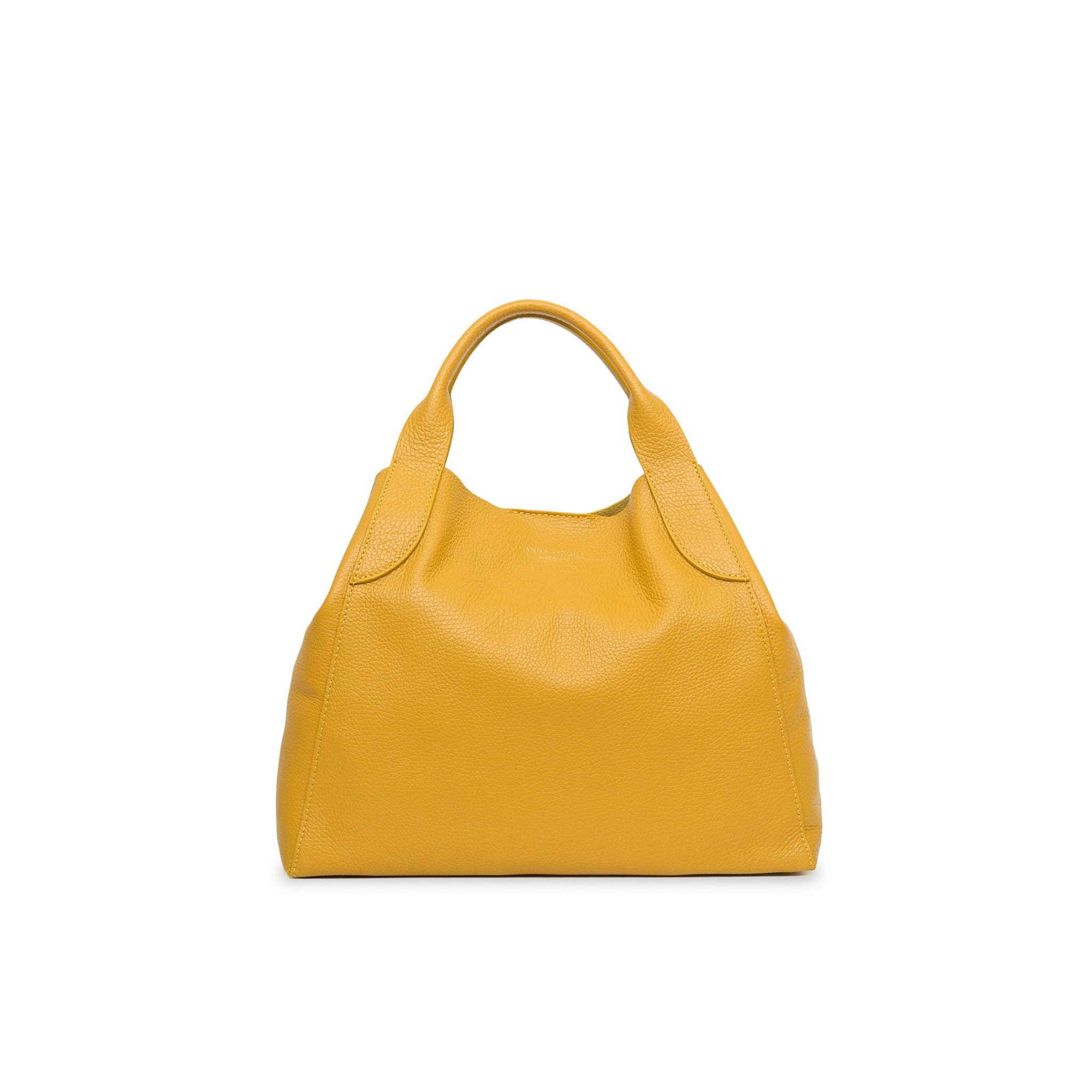 Alice Mini Palermo Leather Handbag - Ochre