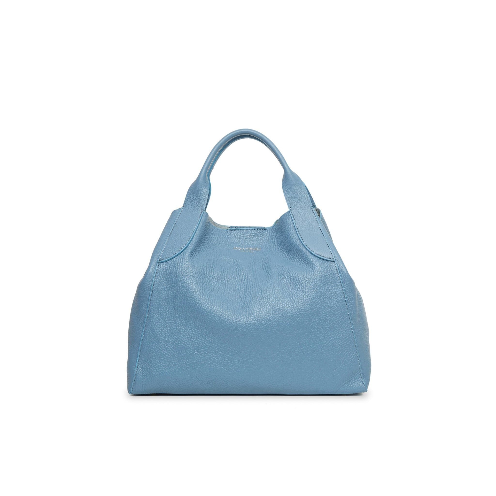 Alice Mini Palermo Leather Handbag - Powder