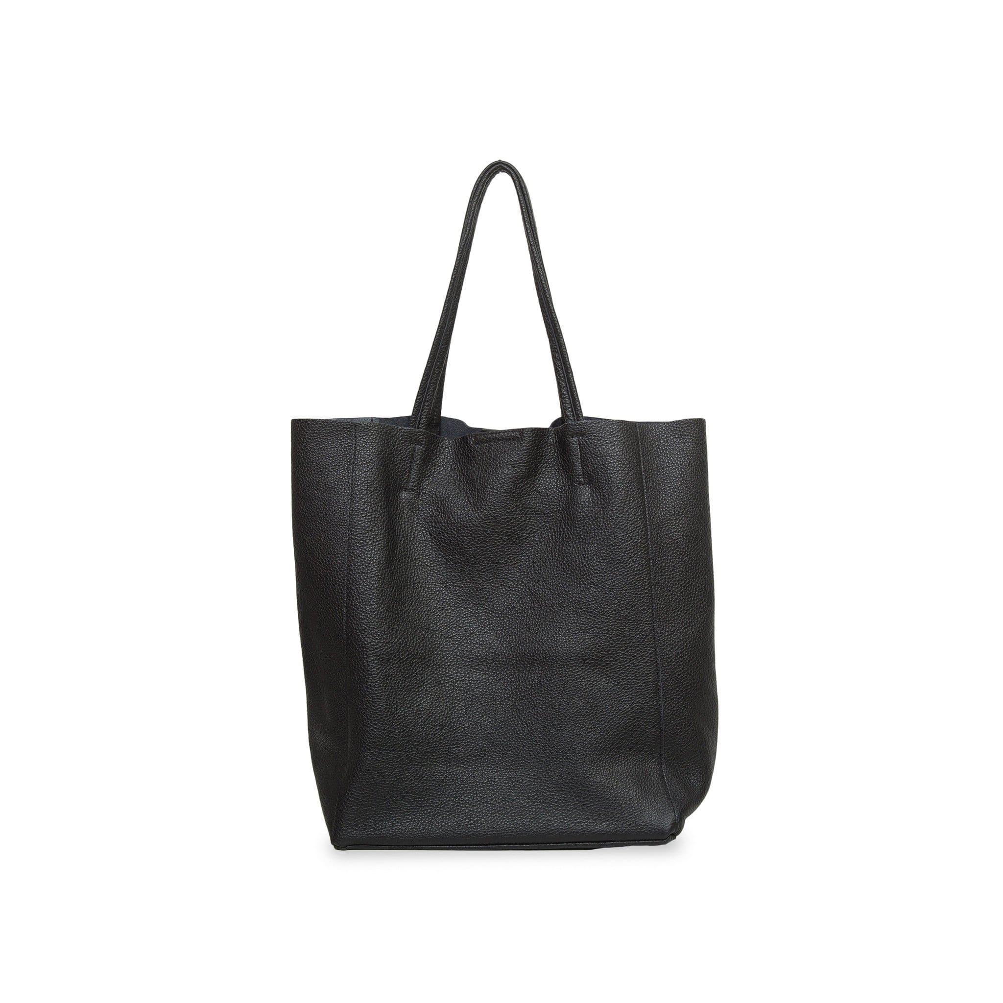 Lidia Palermo Soft Leather Tote - Black