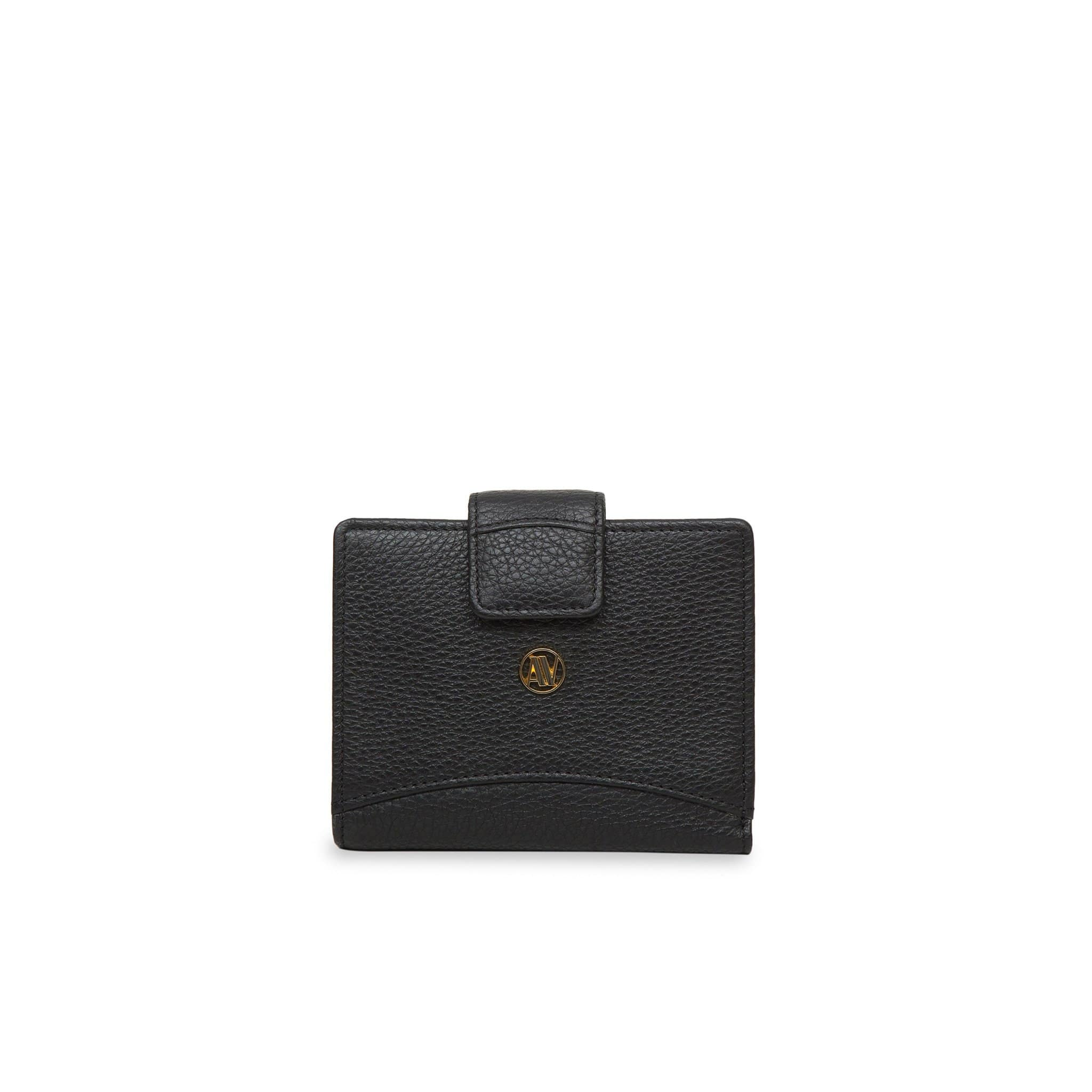 Black small Rimini leather wallet