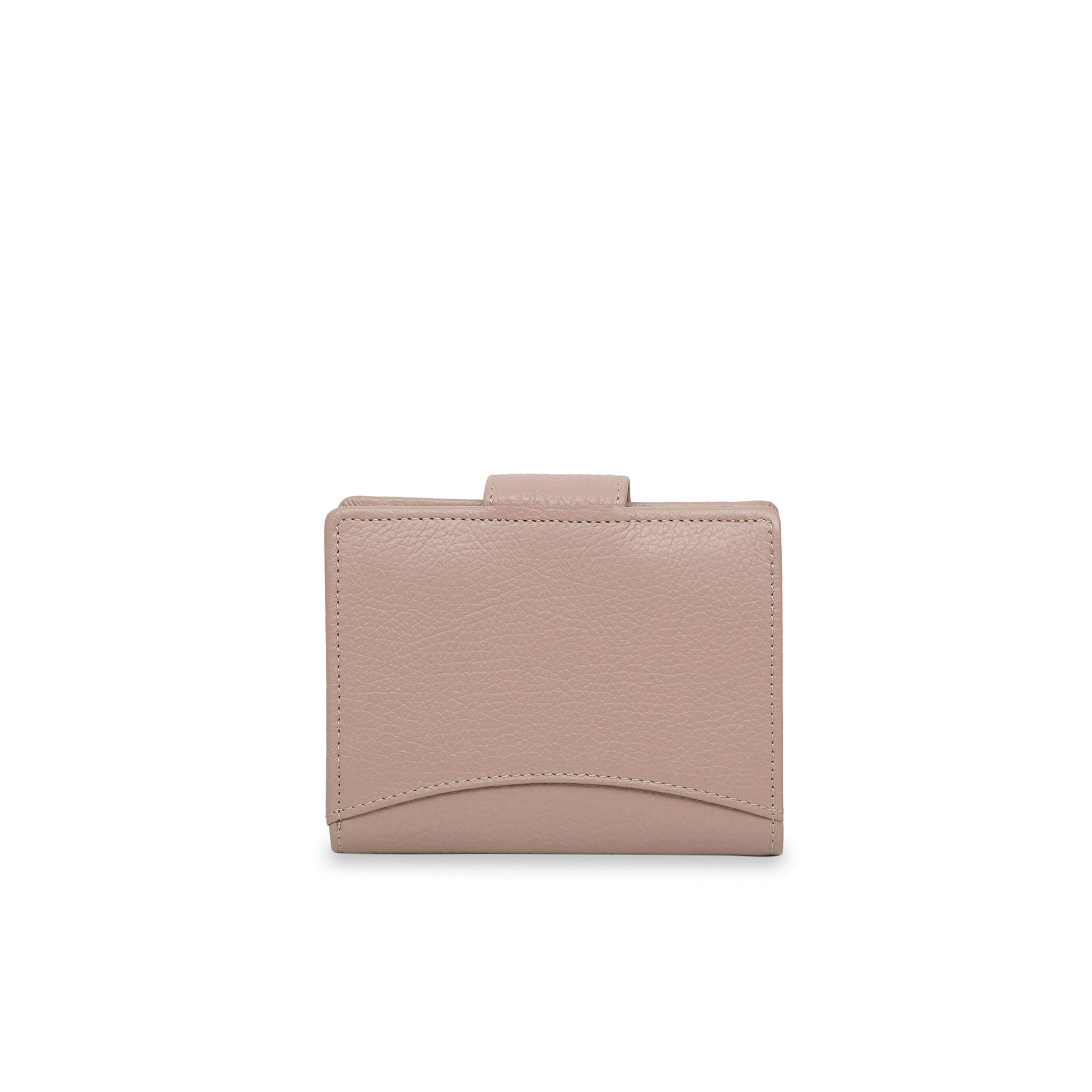 Nude small Rimini leather wallet