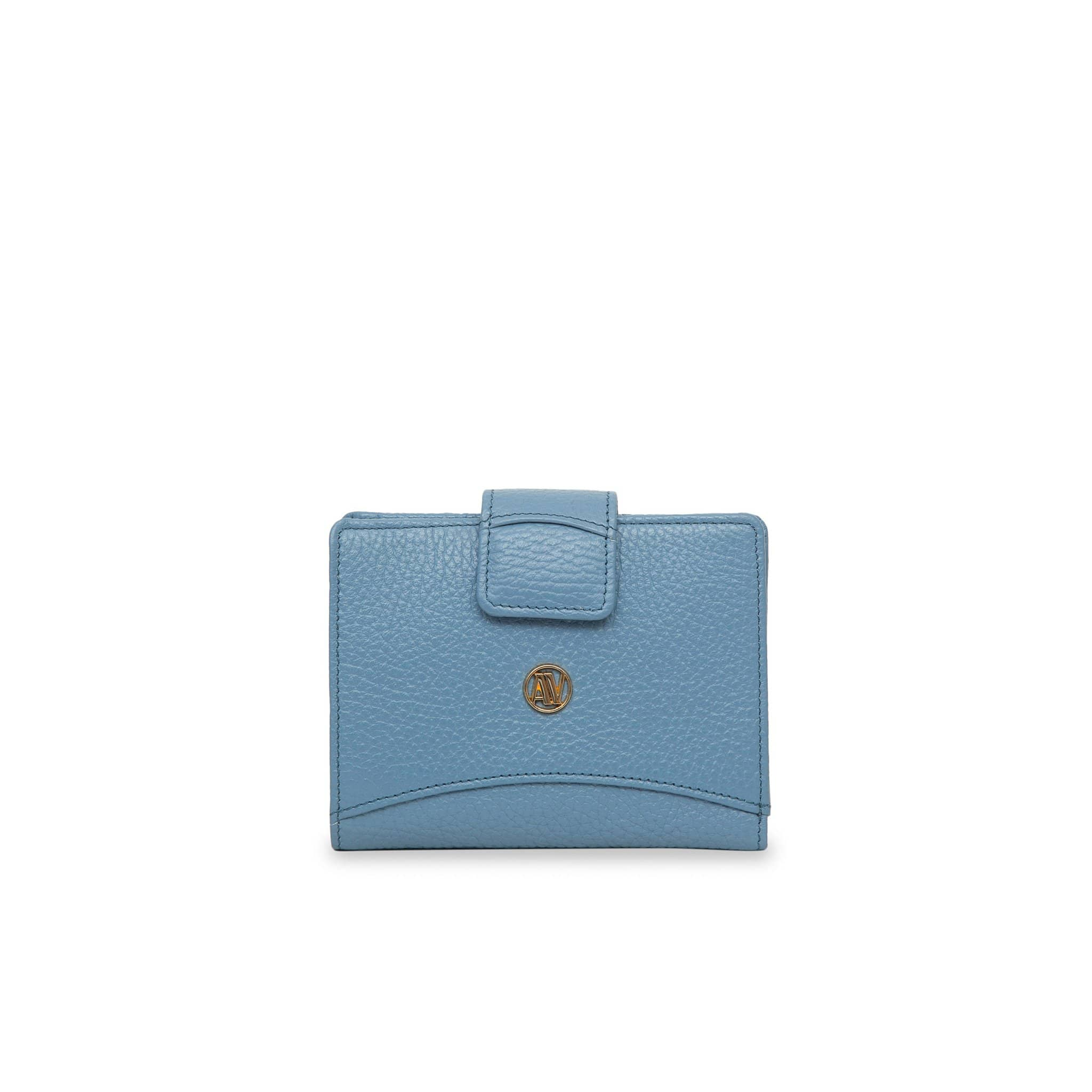 Powder small Rimini leather wallet