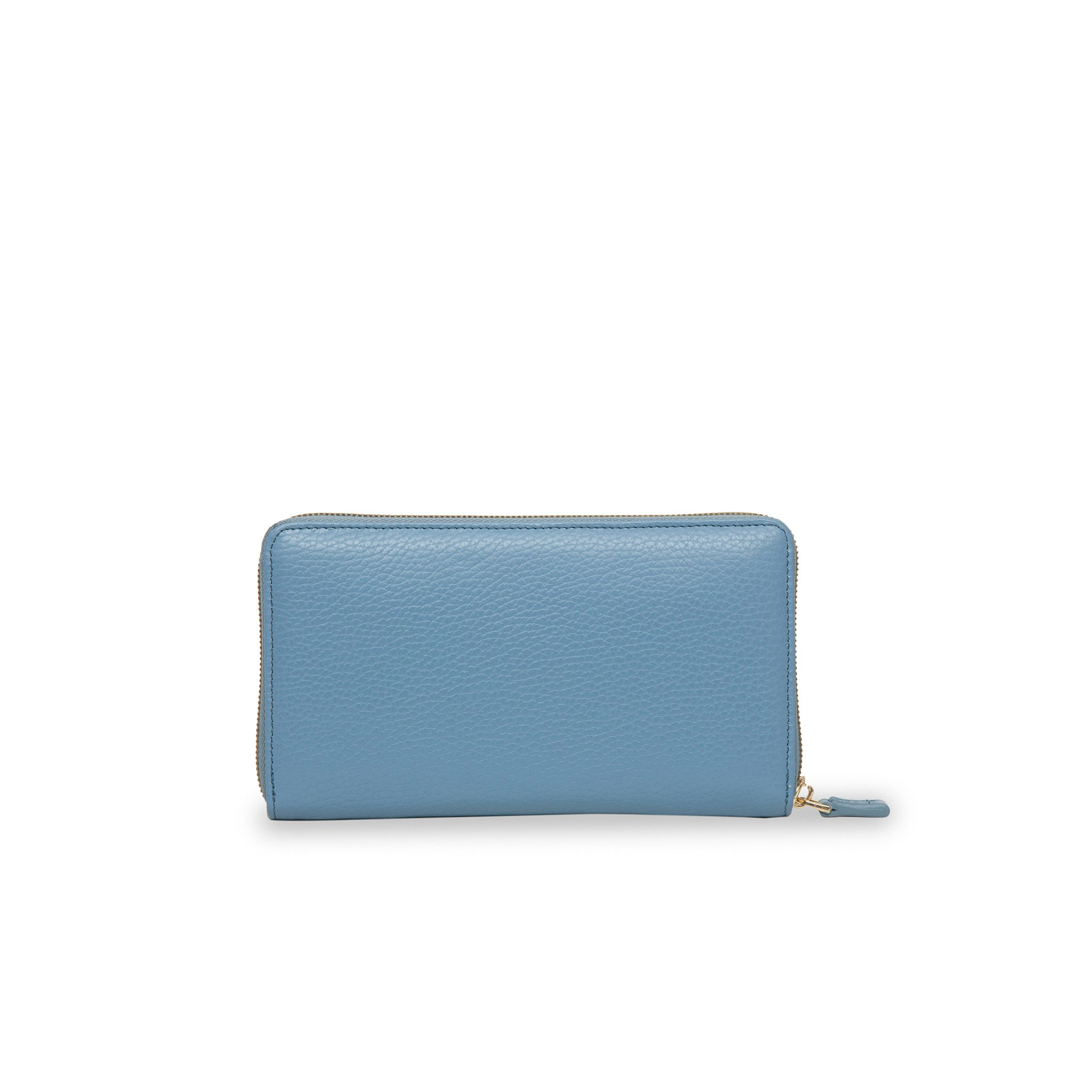 Rimini Zip Around leather Wallet - Powder